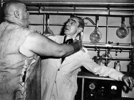 Bride of the Monster - Bela Lugosi