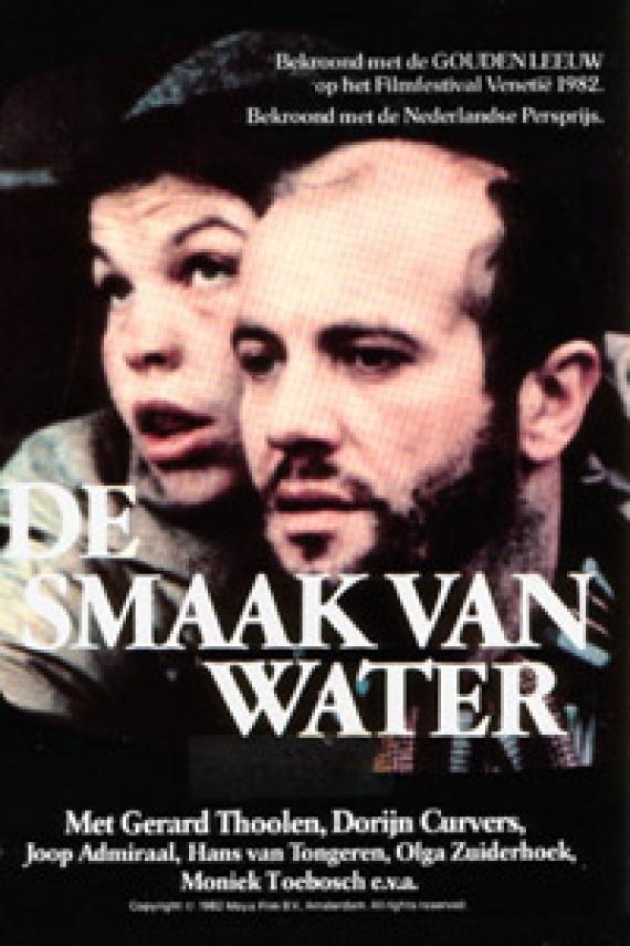 De Smaak van Water poster